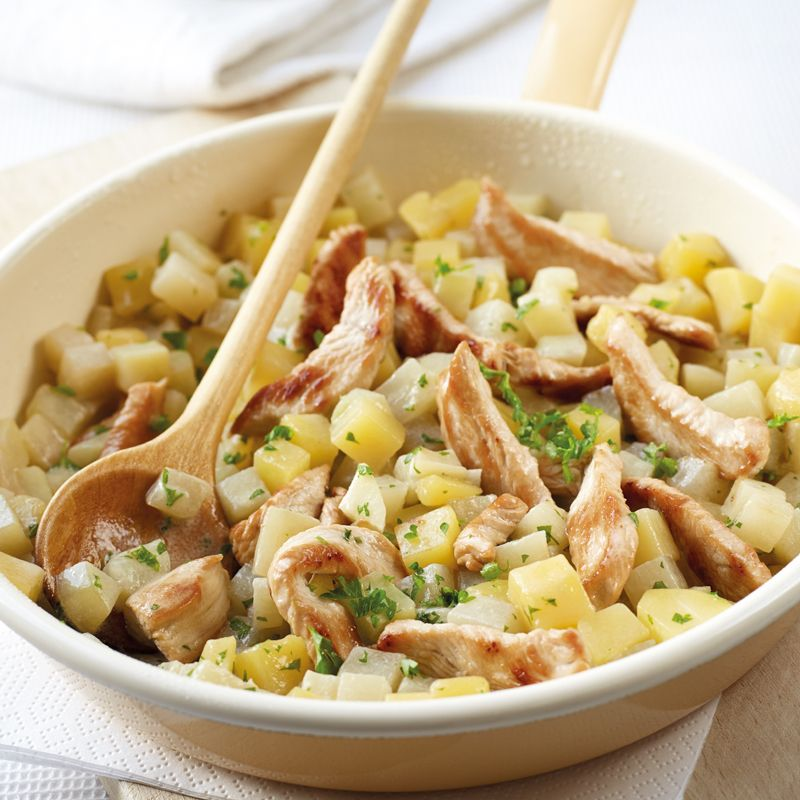 Kohlrabi-Kartoffel-Pfanne Rezept | WW Deutschland #schnellerezeptemittagessen