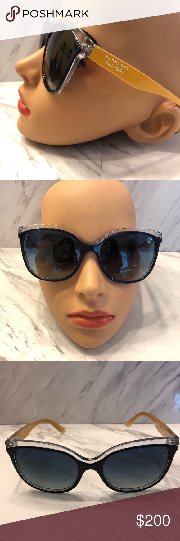4623a8f51899 Authentic Burberry Sunglasses These Burberry sunglasses are absolutely  stunning! Cat-eye shape, gradient