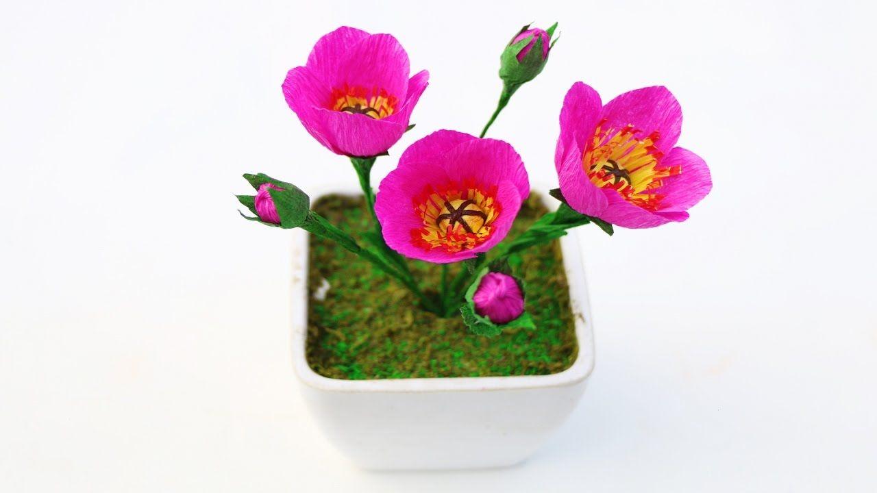 Easy crepe paper flower make easy crepe paper flower make mightylinksfo