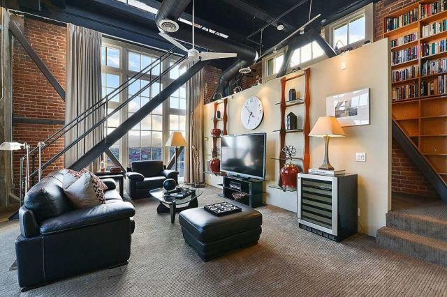 This In A Clock Tower Might Just Be The Coolest Apartment Ever