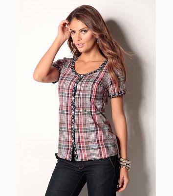 d13ebb6423 Blusas de moda ¡17 Increíbles modelos Juveniles! - Moda y Tendencias 2017 -  2018