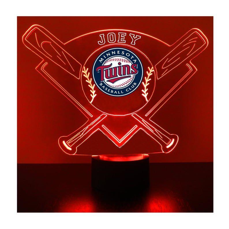 Minnesota Twins Player Night Light