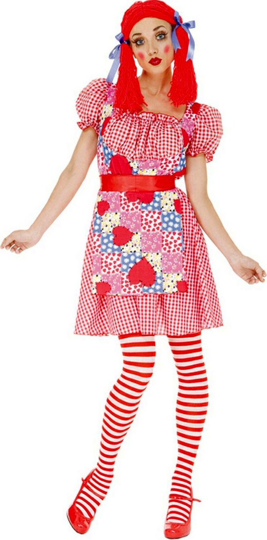 Rag Doll Costume Custume Pinte