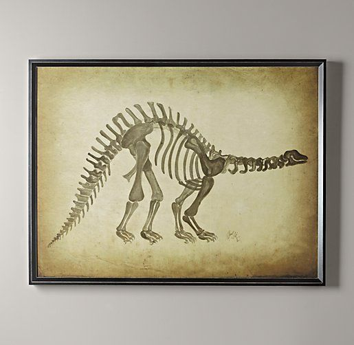 Dinosaur Skeleton Art Part 67