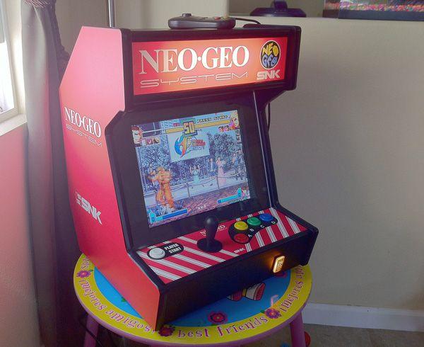 Bartop Neo-Geo System | Arcade Cabinet | Pinterest | Neo geo ...