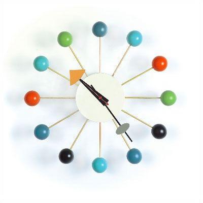 Vitra Vitra Design Museum 13 Ball Wall Clock Nelson Ball Clock Vitra Design Museum Cool Clocks