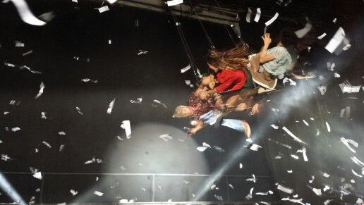Fuerza Bruta.  Awesome.