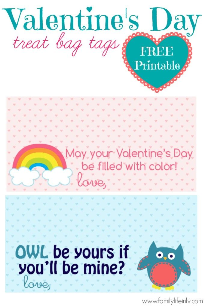 Valentines day treat or gift bag tags freeprintable our knight valentines day treat or gift bag tags freeprintable our knight life owl negle Image collections