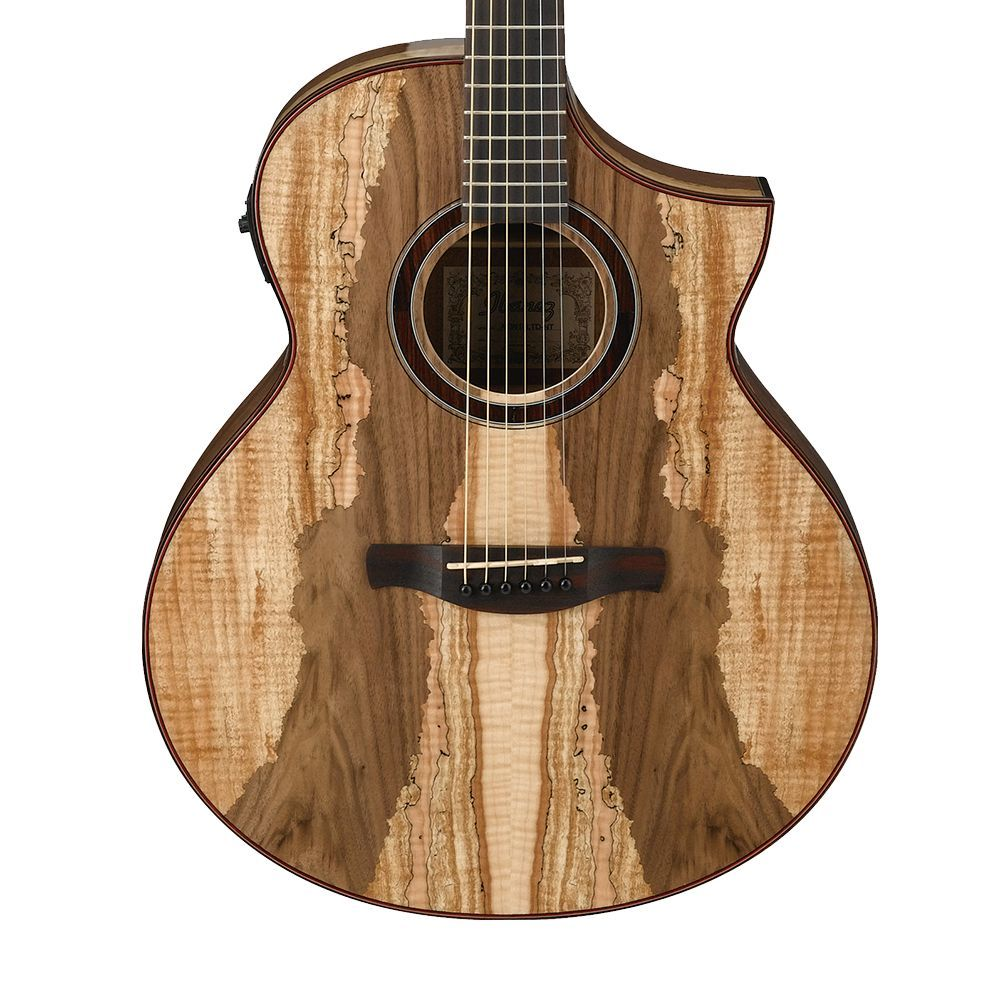 Ibanez Aew16ltd1 Spalted Maple Acoustic Electric Guitar Ibanez Acoustic Electric Guitar Acoustic Electric Acoustic Electric Guitar