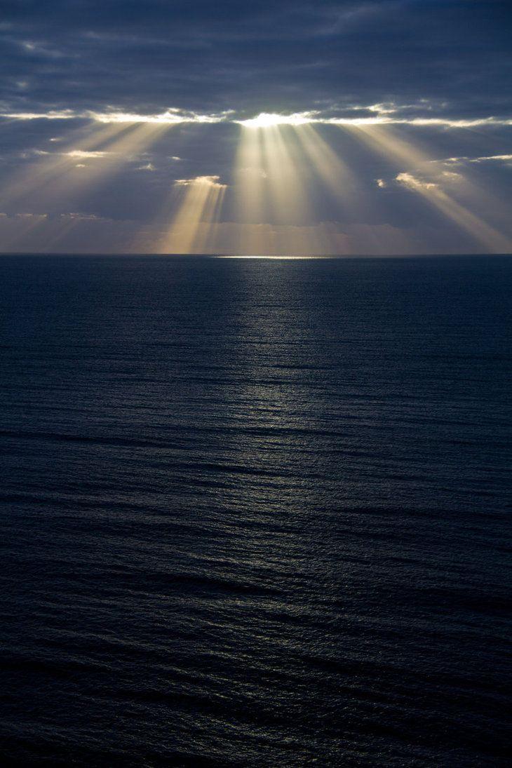 Ocean Dawn II by Aztil on DeviantArt