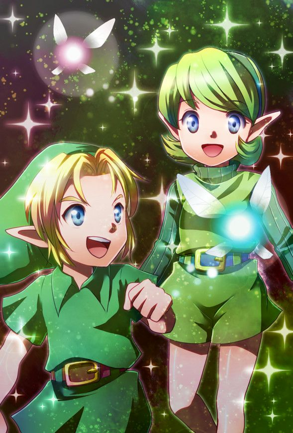 link and saria relationship help