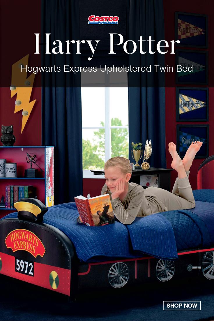 harry potter headboard on harry potter hogwarts express upholstered twin bed hogwarts express hogwarts kids room furniture harry potter hogwarts express
