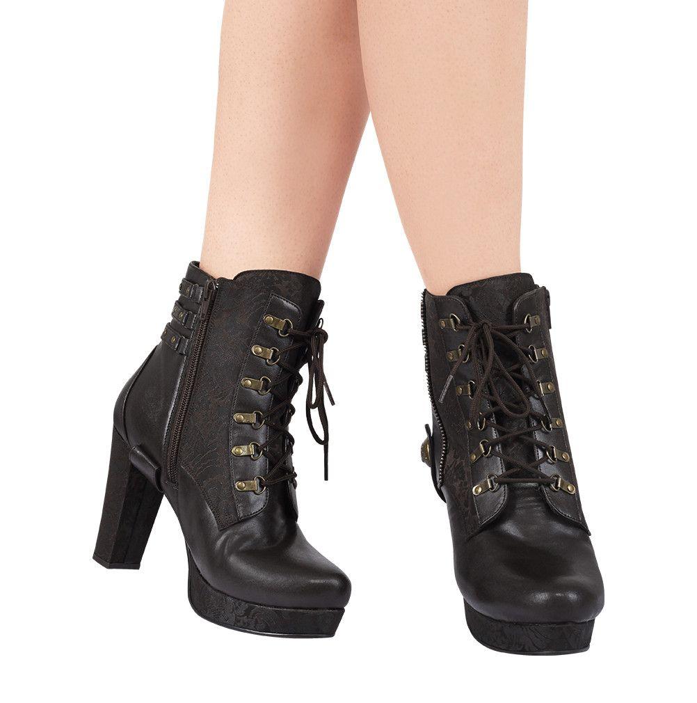 Malene Steampunk Boot