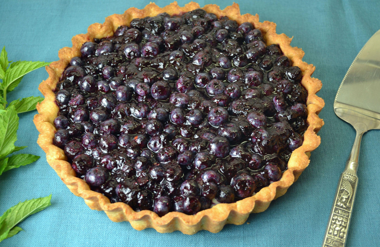Very Blueberry Tart | My Messy Kitchen