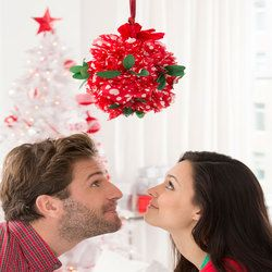 Holiday Kissing Ball