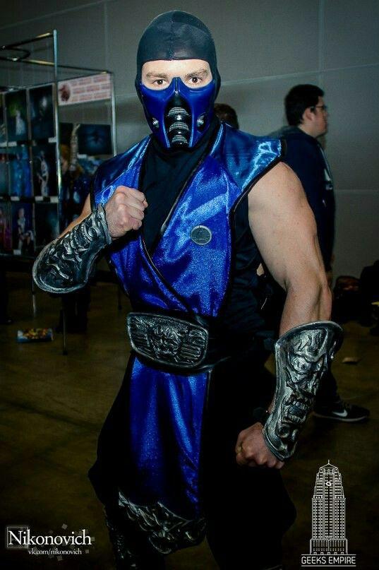 Sub Zero 9 Mask For Sale Mortal Kombat 9 Finished Mask Or Raw