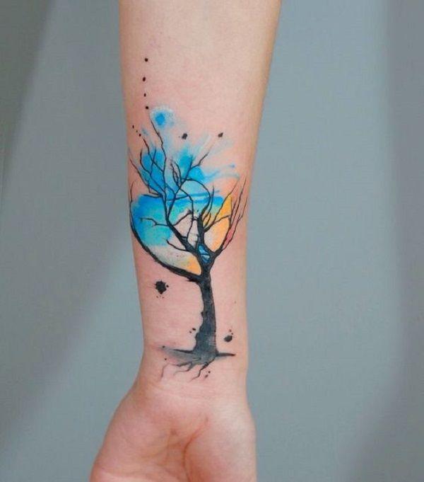 45++ Tatouage branche d arbre trends