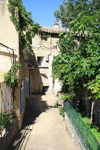 Narrow Street in Sablet, Provence-Alpes-Cote d'Azur