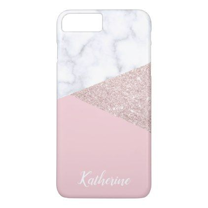 iphone 8 case personalised rose gold