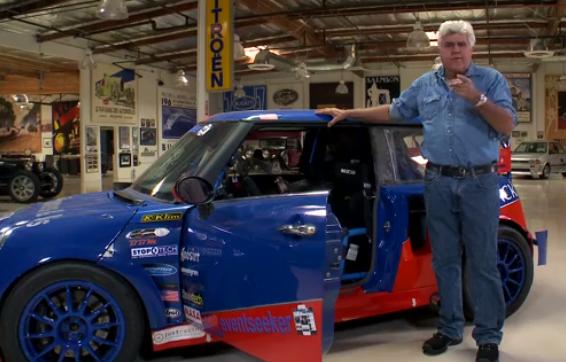 Jay Leno Drives A Mean 500hp Mini Cooper Video Carhoots
