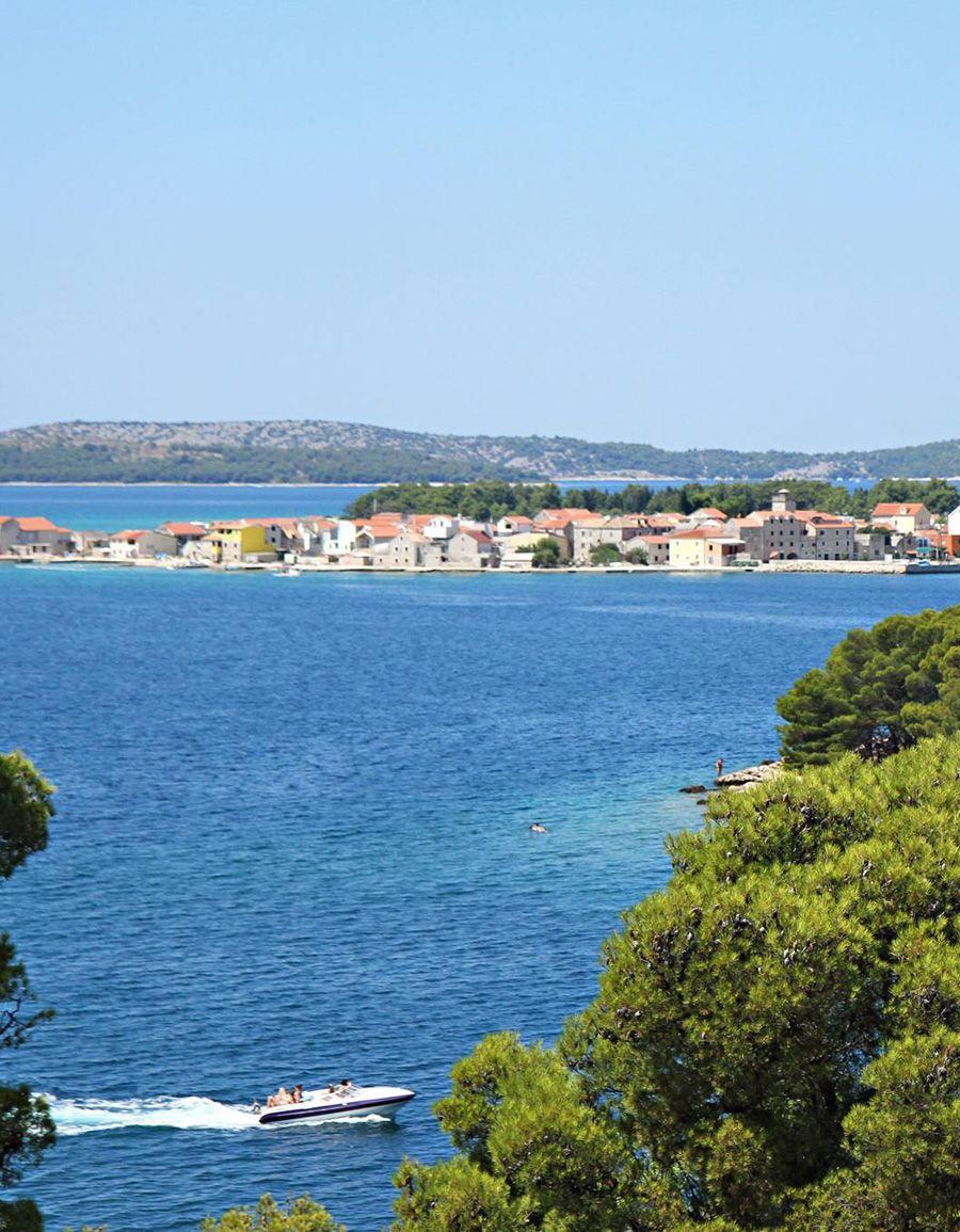 Krapanj island, Croatia.