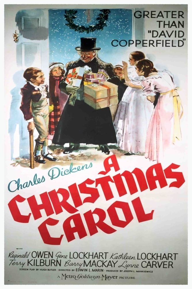 christmas carol 1951 movie poster