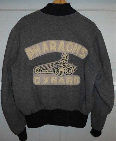 Vintage 1950's Devil Car Club Jacket | Men's Vintage Clothing ...