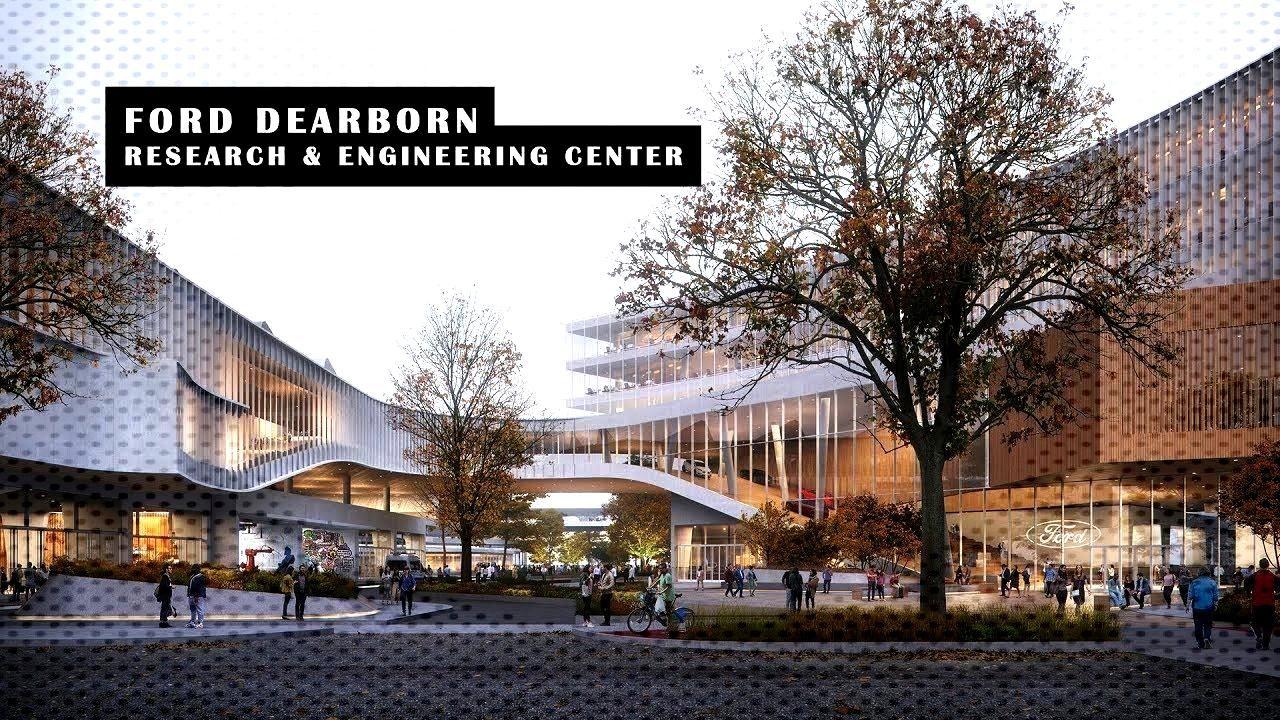 Ford Dearborn Masterplan van Snøhetta  - Architecture -Ford Dearborn Masterplan van Snøhetta  -