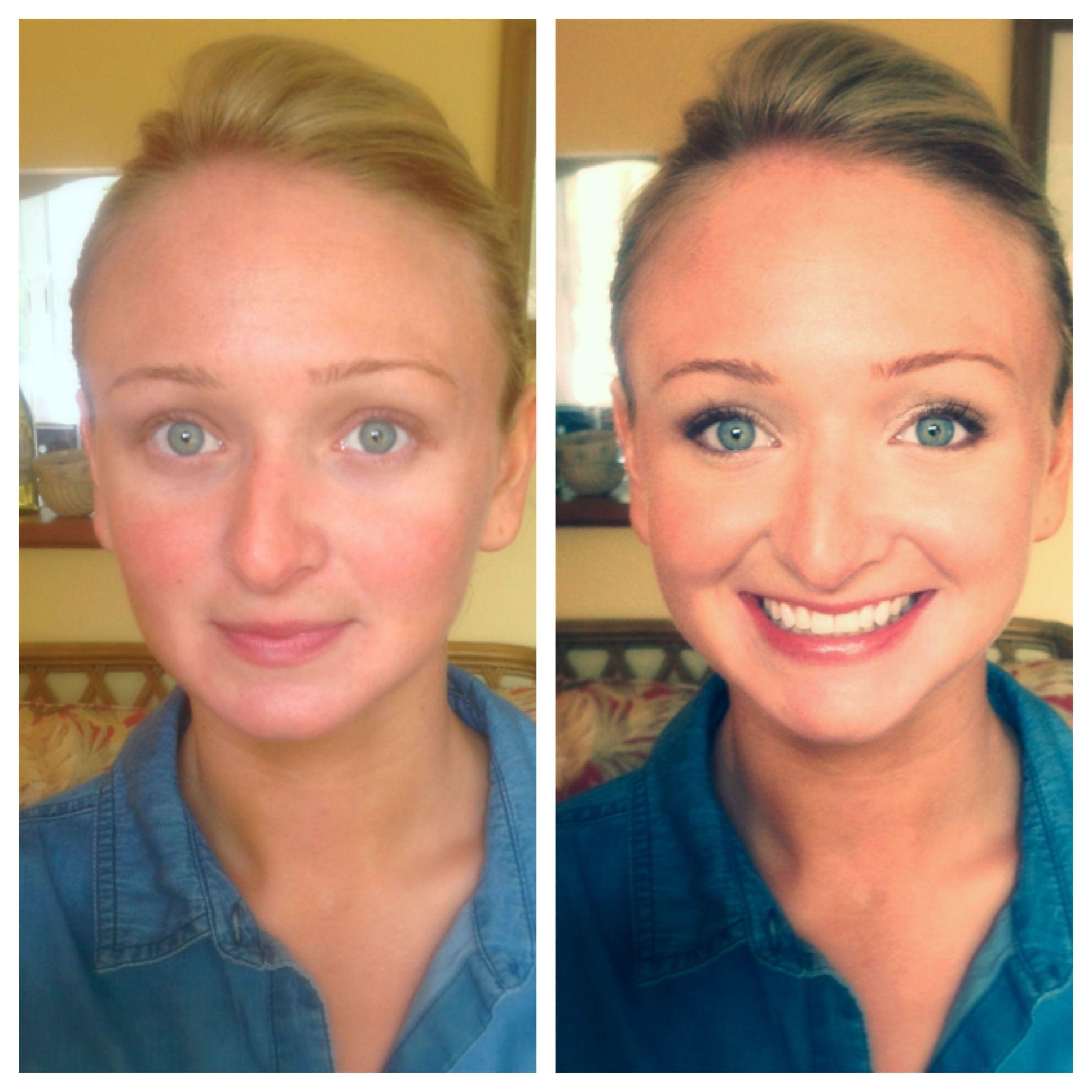 Before And After Makeup Bridesmaids Weddingmakeup Without Makeup Power Of Makeup Some Girls