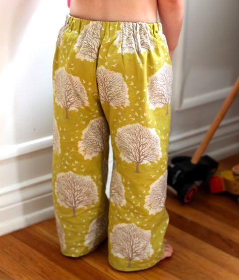 PJ pants tutorial