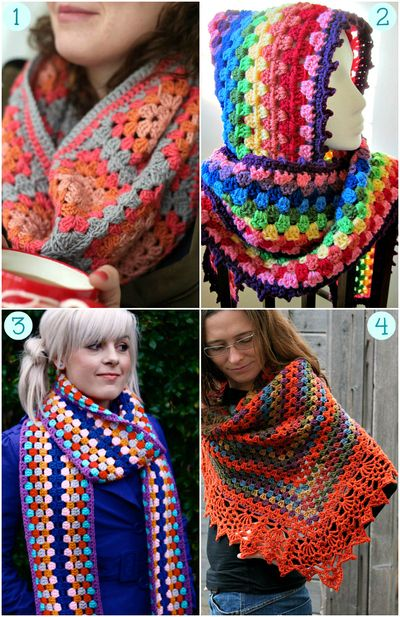 Granny Crochet 20 Project Ideas And Free Patterns Crochet Shawl