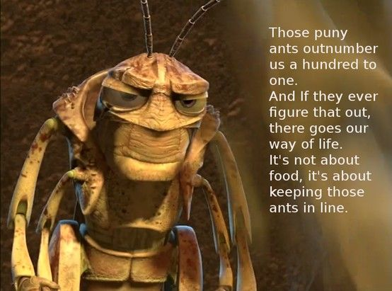 "Hopper in ""A Bug's Life"" 