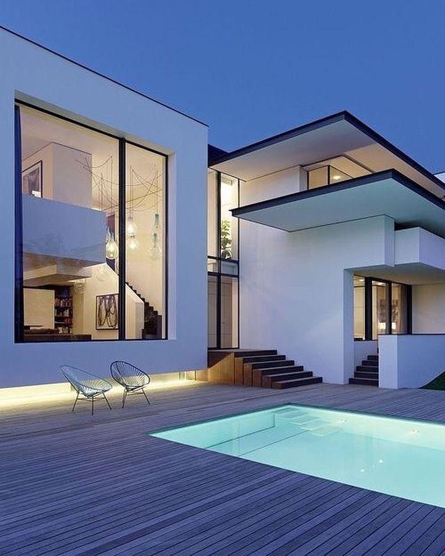 Modern Residential Exterior By Ar Sagar Morkhade: Get Inspired, Visit: Www.myhouseidea.com #myhouseidea