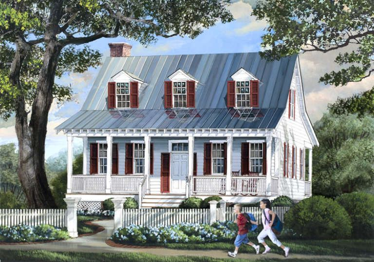 House Plan 7922 00014 Cottage Plan 1 740 Square Feet 3 Bedrooms 2 5 Bathrooms In 2020 Country Style House Plans Cottage Plan Craftsman House Plans