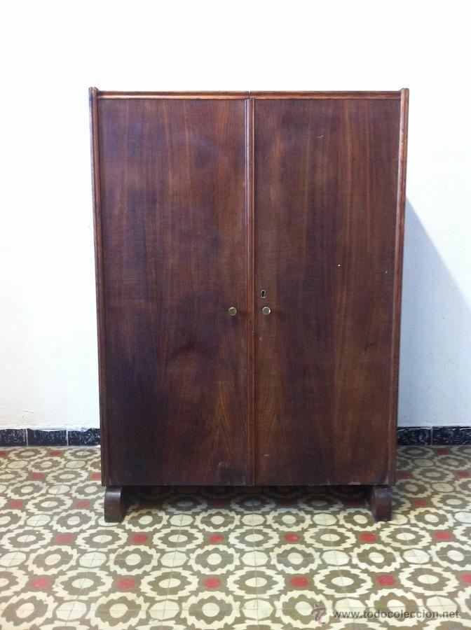 Antigüedades: Antiguo Mueble Escritorio con Patente Armario ...