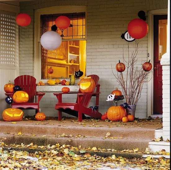 30 Halloween Outdoor Decorating Ideas Halloween Decorations