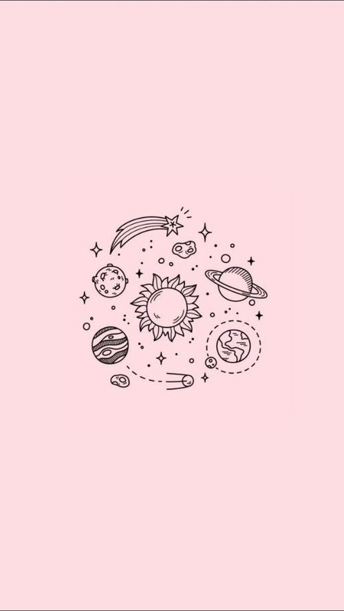 Cute Space Cartoon Wallpaper Iphone
