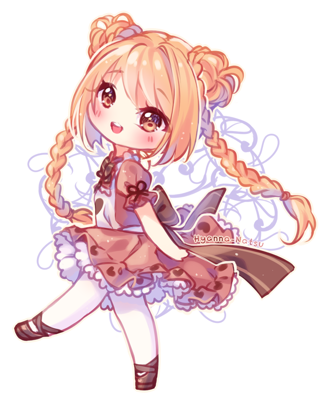 Video Commission Chocolate Heart By Hyanna Natsu Deviantart Com On Deviantart Chibi Anime Kawaii Cute Anime Chibi Chibi Girl Drawings