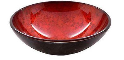Lava Glass Vessel Sink