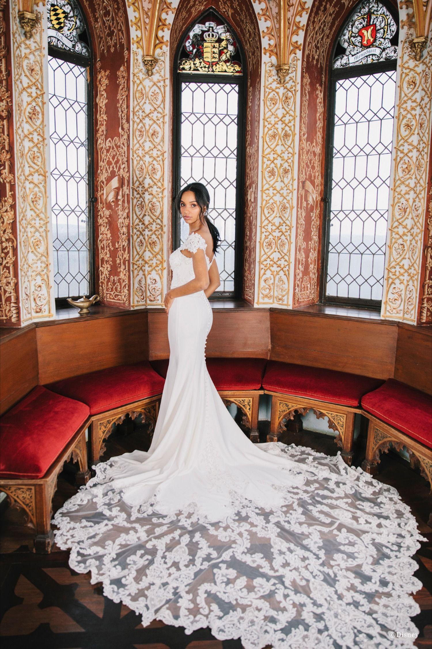 The Jasmine Wedding Gowns The Bridal Collection Disney Princess Wedding Dresses Disney Wedding Dresses Princess Wedding Dresses [ 2250 x 1500 Pixel ]