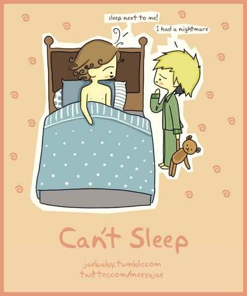 Harry will chase away the bad dreams for you Niall :)
