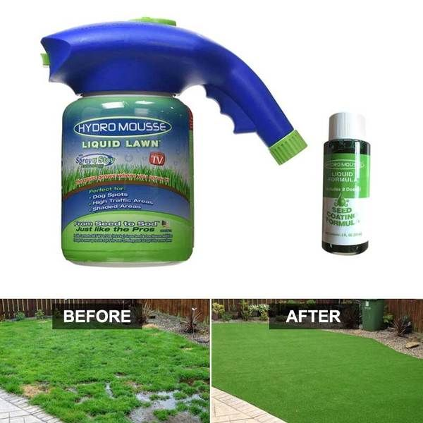 Liquid Lawn Green Grass Spray In 2020 With Images Green Lawn Aerate Lawn Lawn