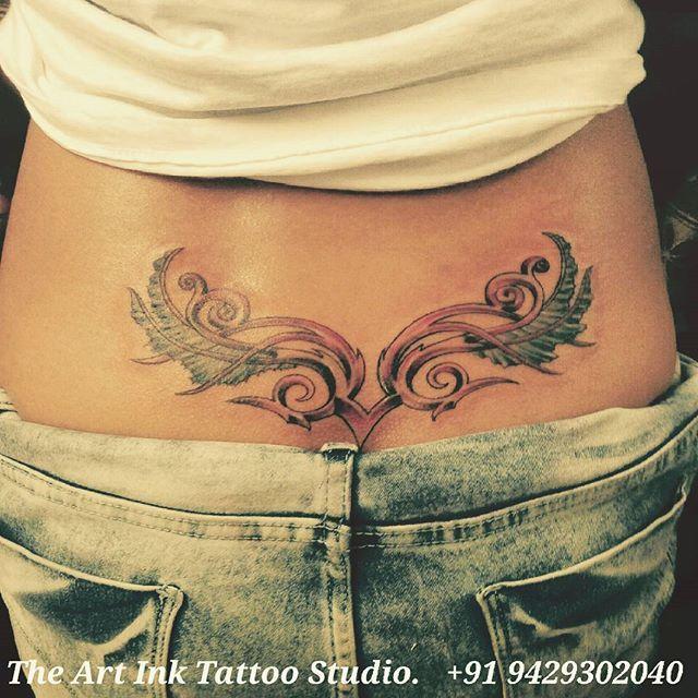 Lower Back Tattoo Lowerbacktattoo Girl Girlstattoo Like Tribal