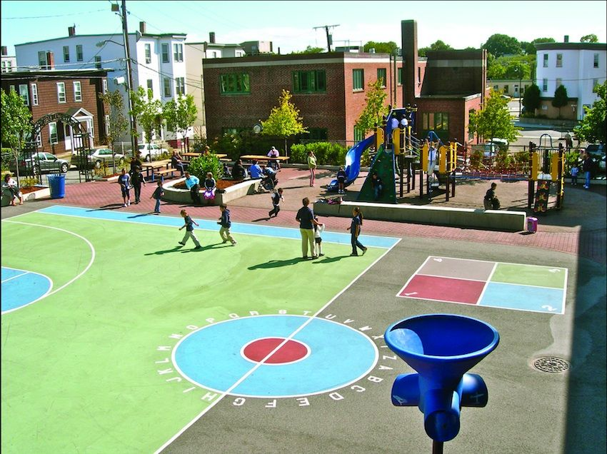 Before and After: Boston's Public School Playgrounds ...