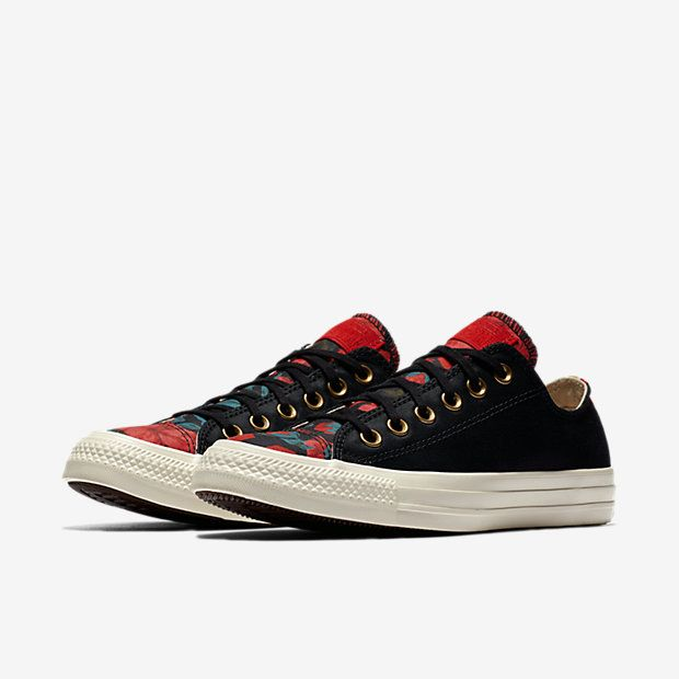 b9a5d8c42f6 Converse Chuck Taylor All Star Parkway Floral Low Top Women s Shoe ...