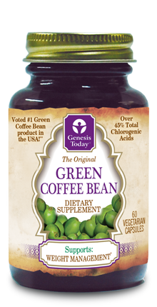 Green Coffee Bean Genesis Today Зеленый кофе в зернах