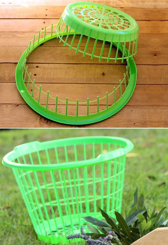Incredibly Dollar Store Laundry Basket DIY! How