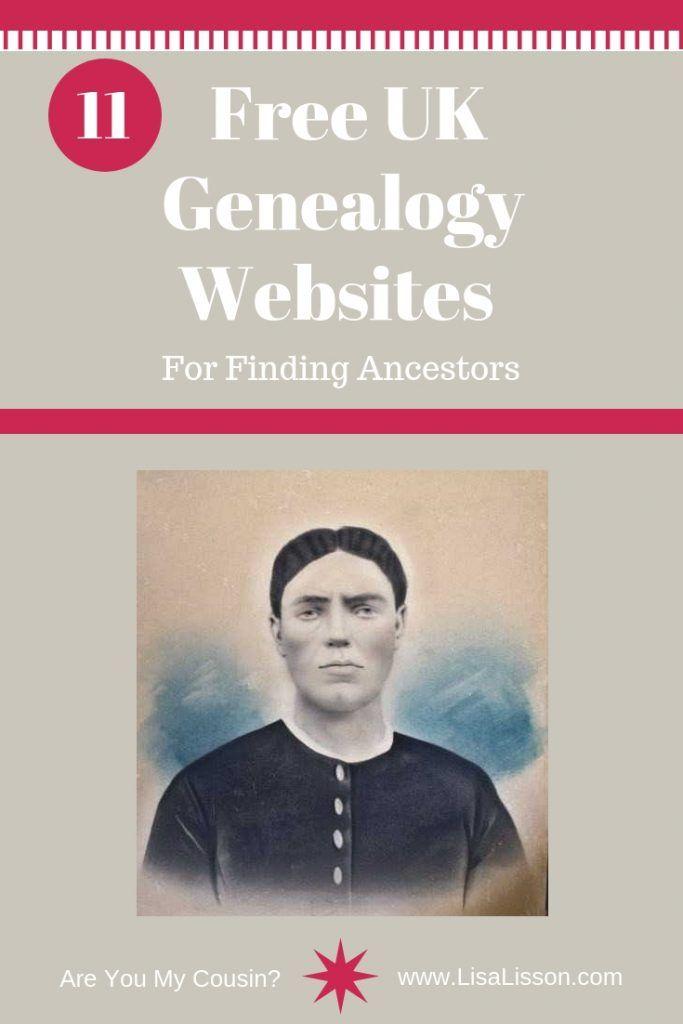 11 Free UK Genealogy Websites For Finding Ancestors #genealogy