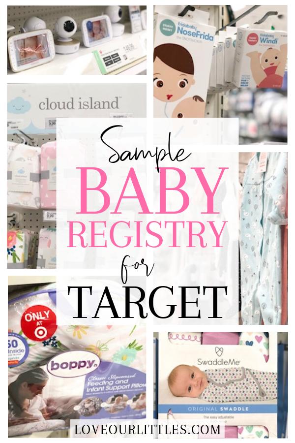 Baby Registry Necessities for Target