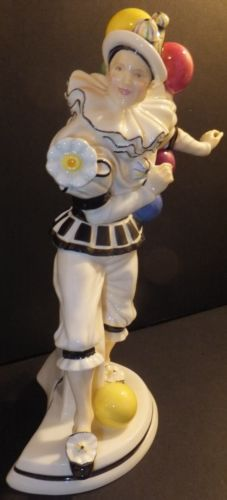 Royal Doulton Prestige Trickster HN5308 Balloon Clowns Figurine Limited New | eBay